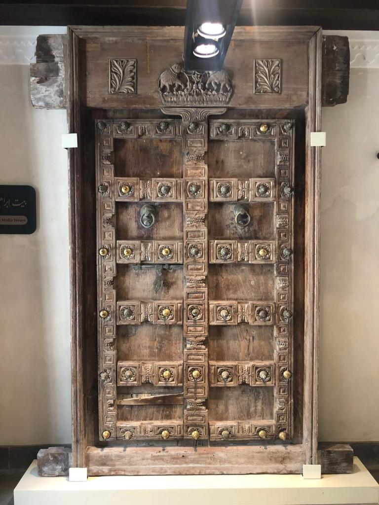 Original door in the museum