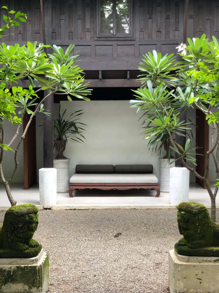 Quiet corners at Villa Mahabhirom