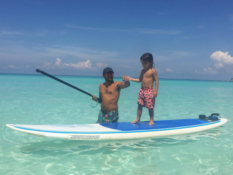 Rio paddle board Boracay