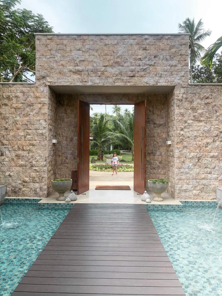 Anantara Peace Haven Spa Entrance