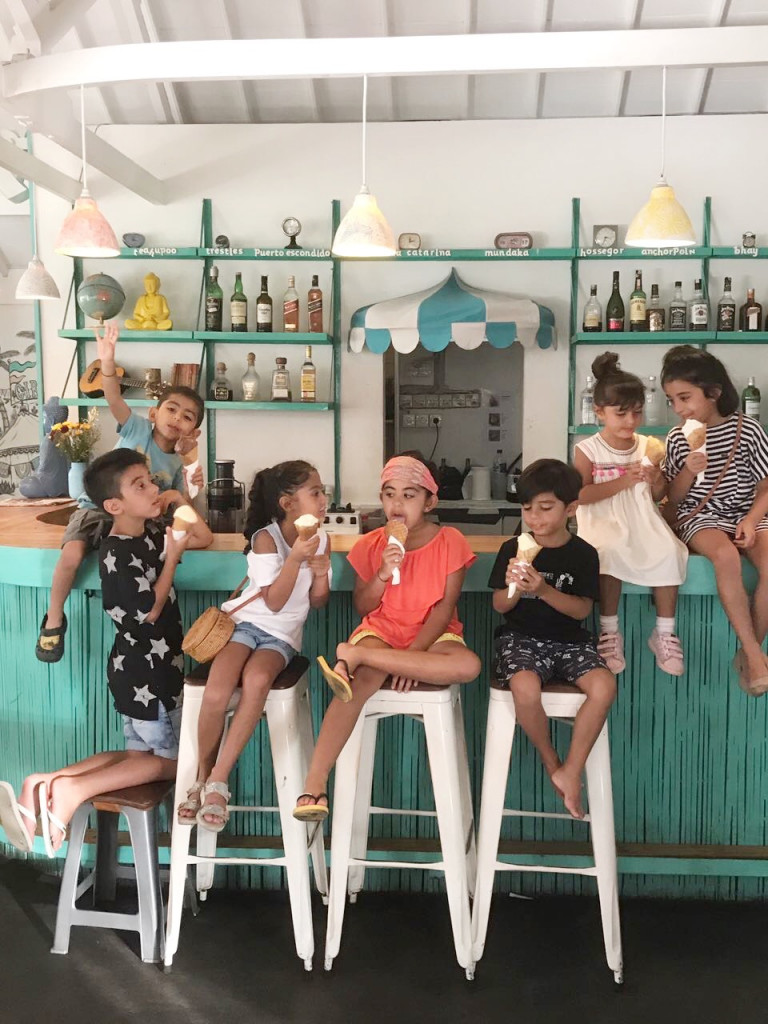 Ice Cream Sunday at Sea Circus Seminyak