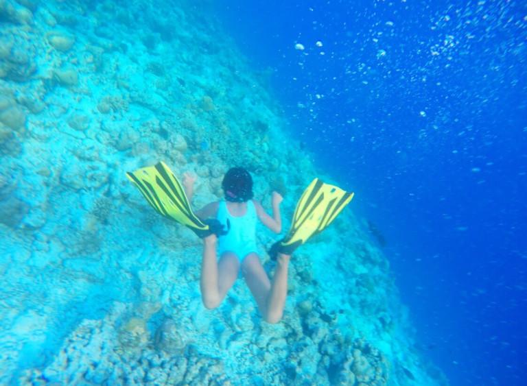 My free diver Amara