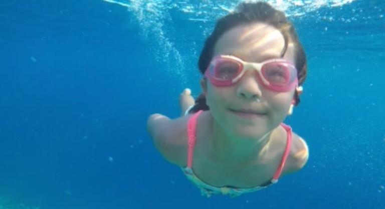 Sisi underwater taken on the Go Pro