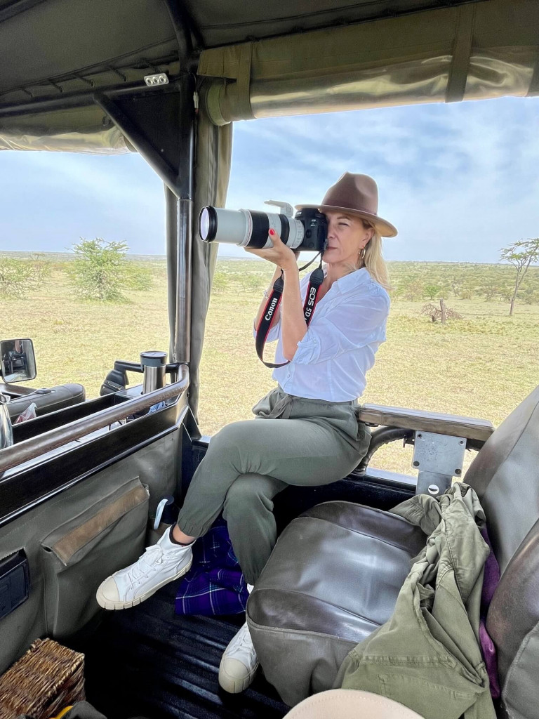 A professional Canon camera to use during your stay