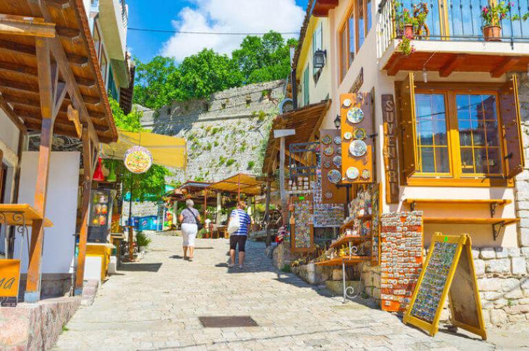 Bar-Montenegro-old-town-street