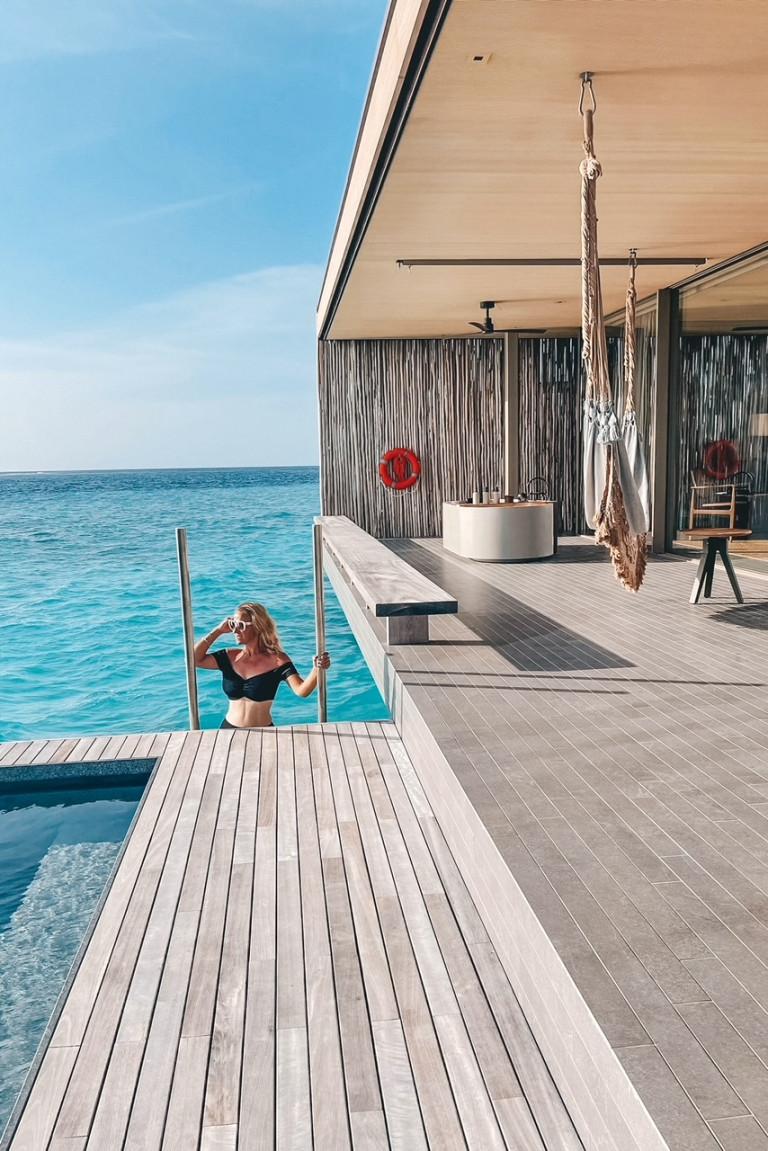 Two bedroom water villa Patina Fari Islands