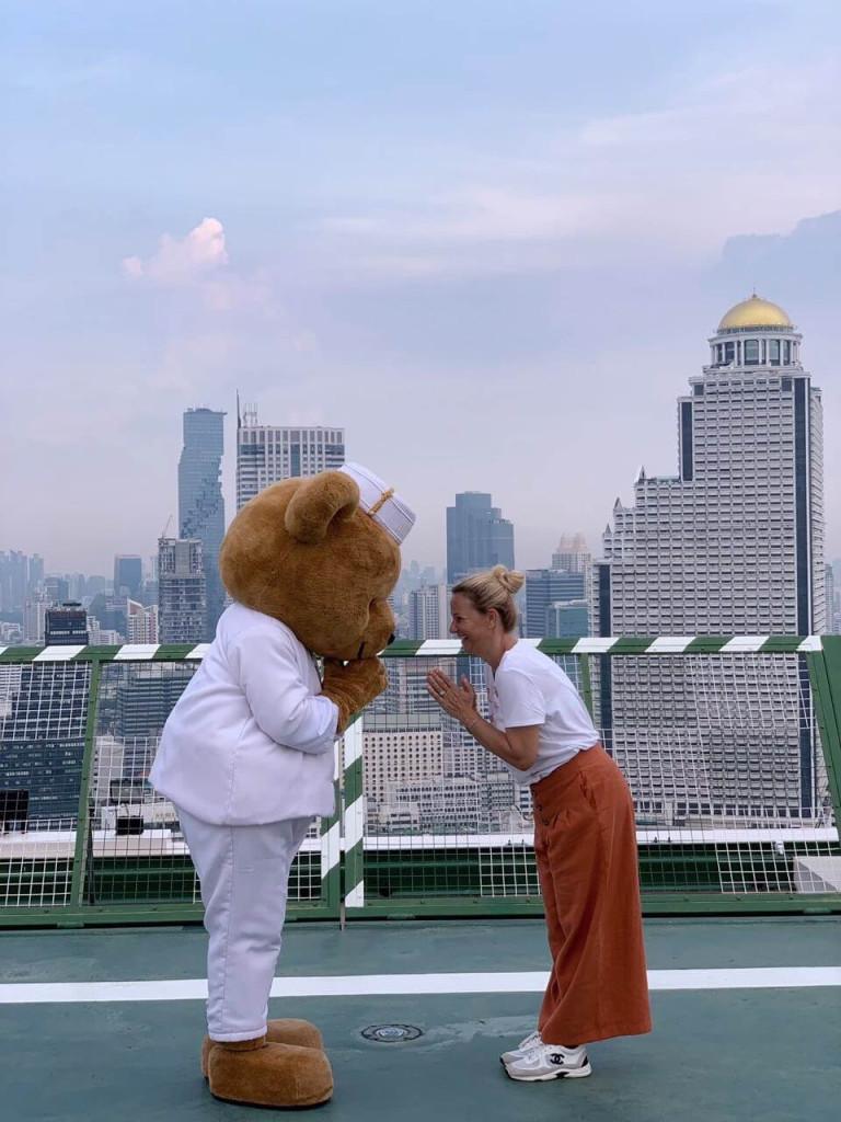Helipad at Penisular Bangkok