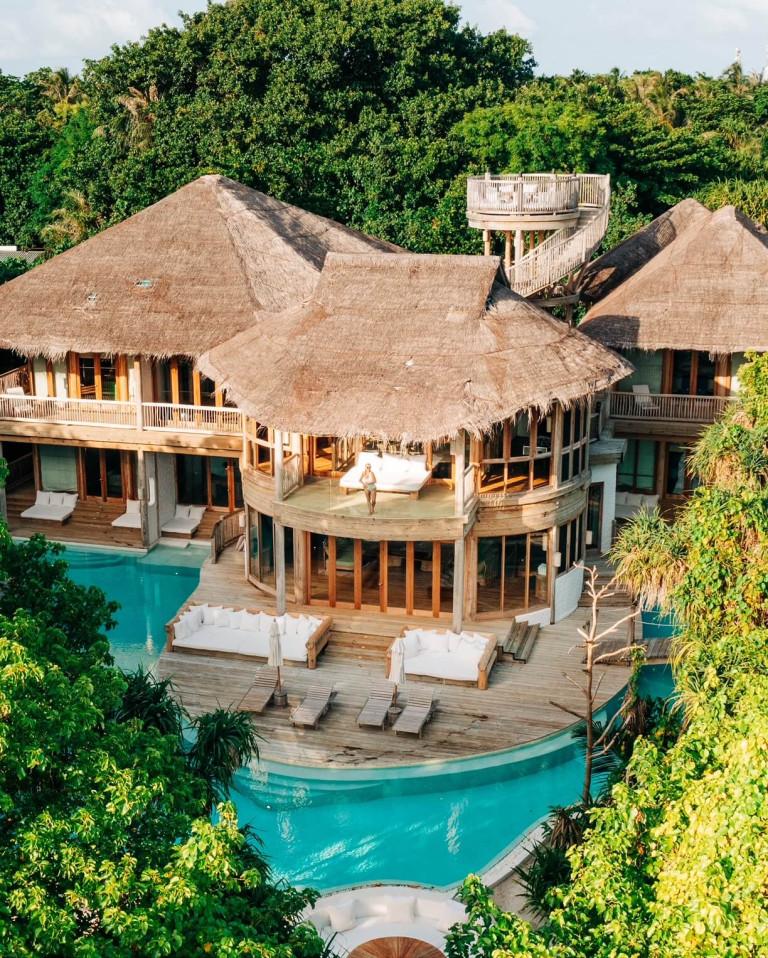 Our villa Soneva Fushi