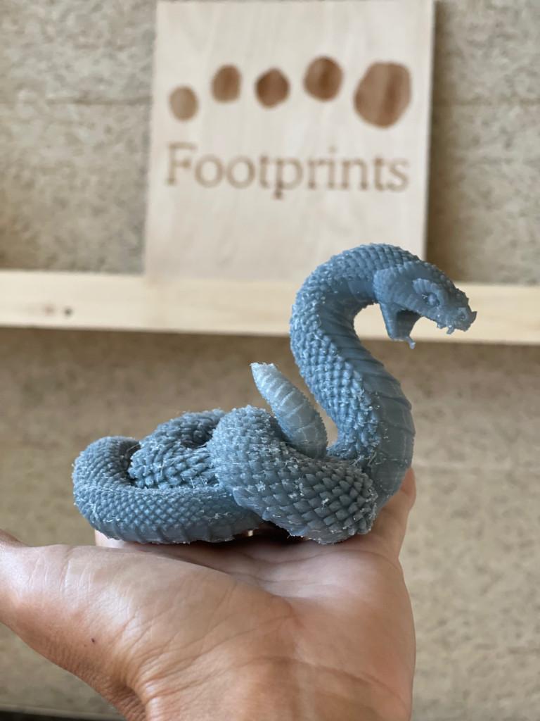 Footprints kids club - 3D printer shapes