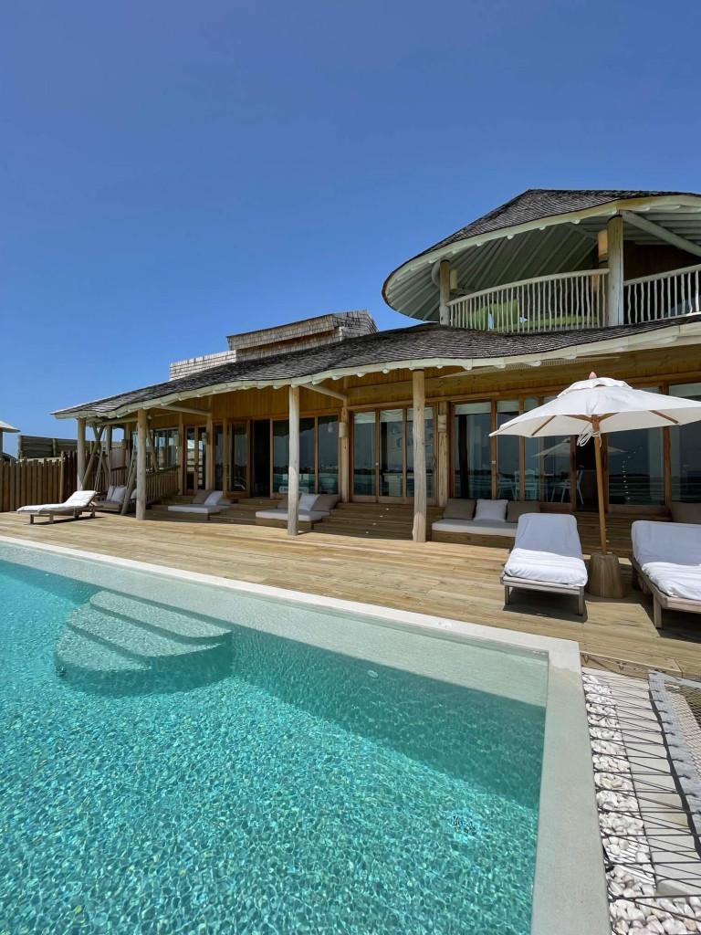 My one bedroom water villa at Soneva Jani