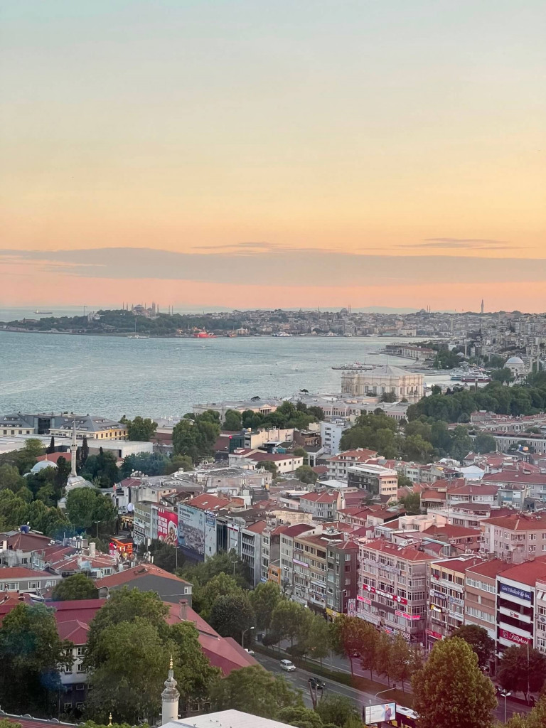 View of Istanbul from Conrad