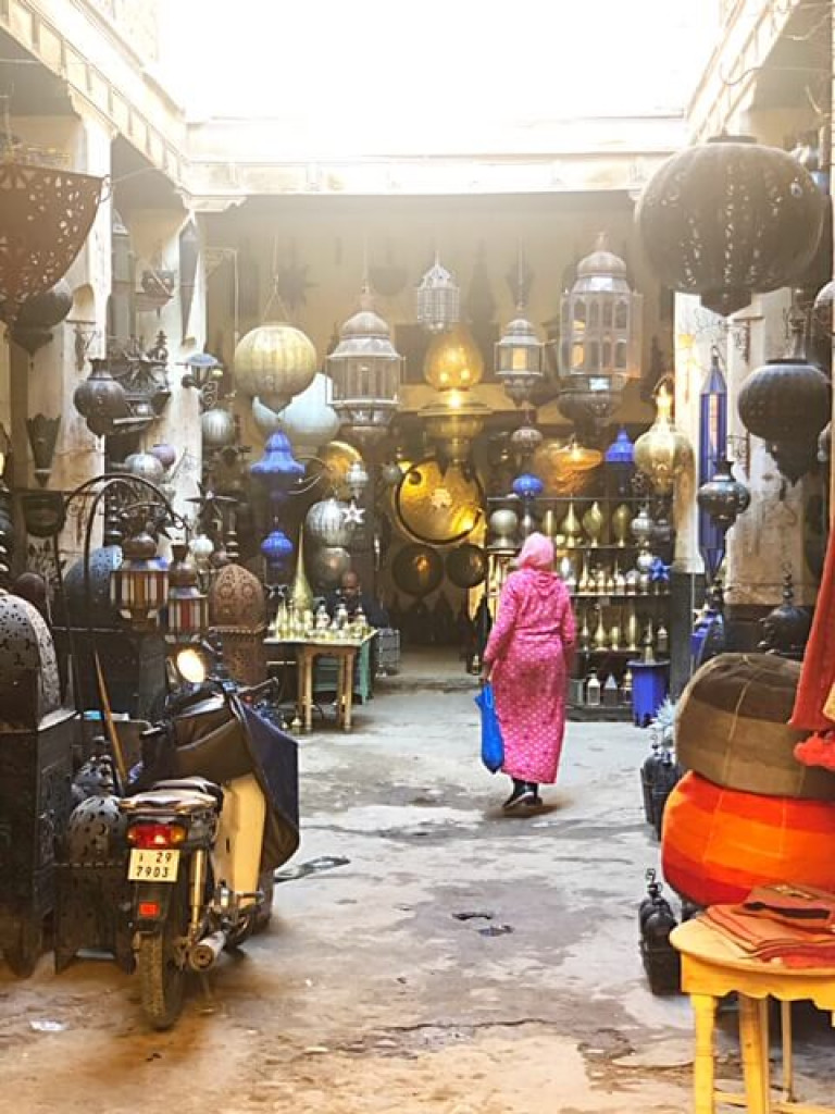 Lanterns in the souk