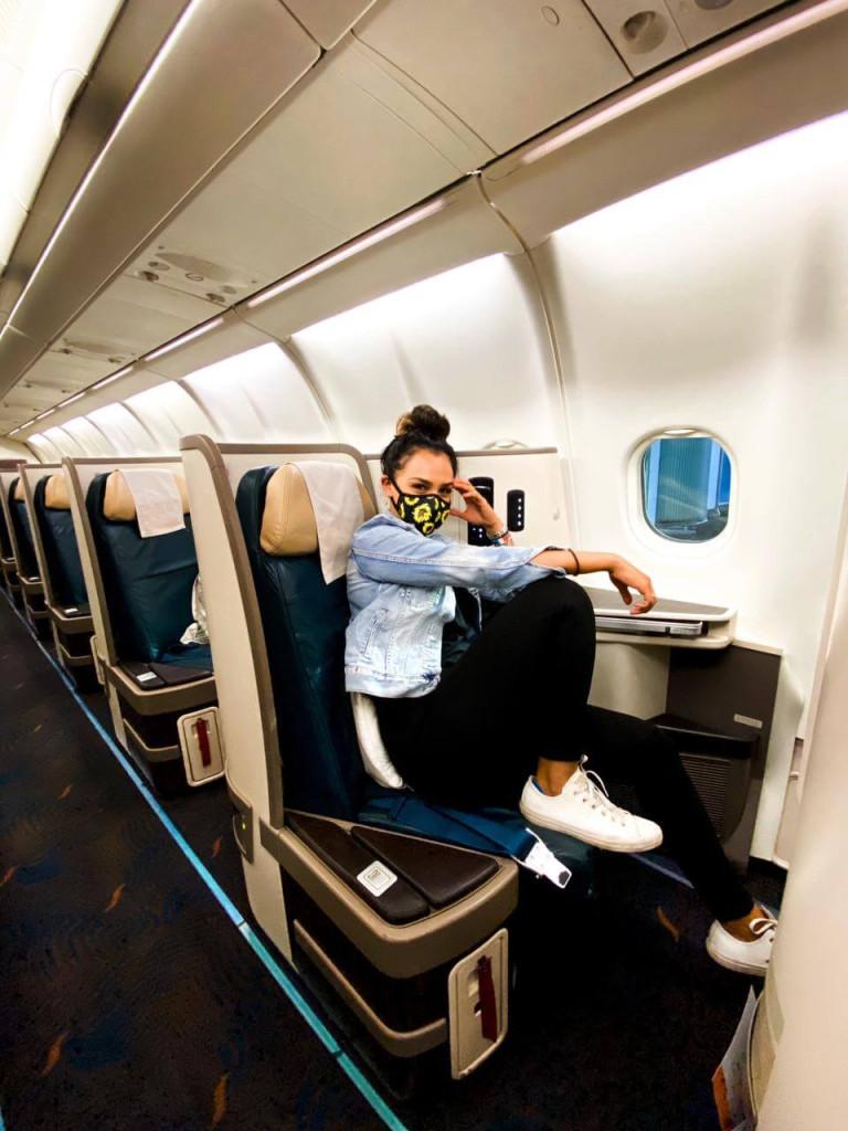Zahirah Sri Lankan Airlines