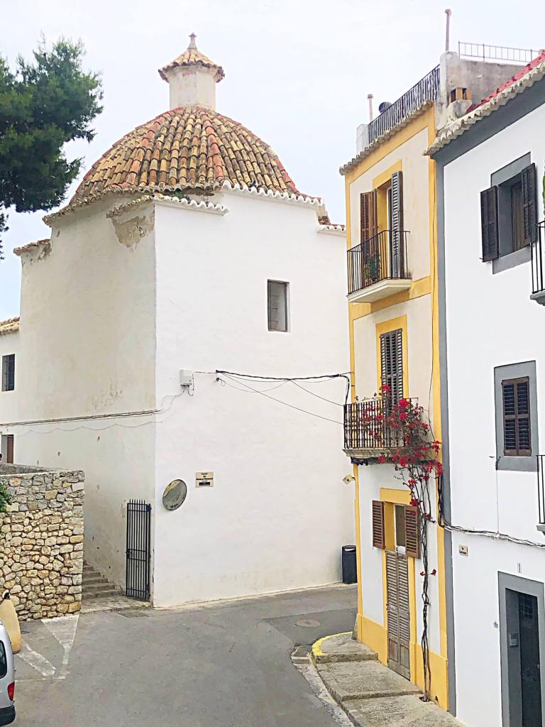Ibiza Town narrow streets