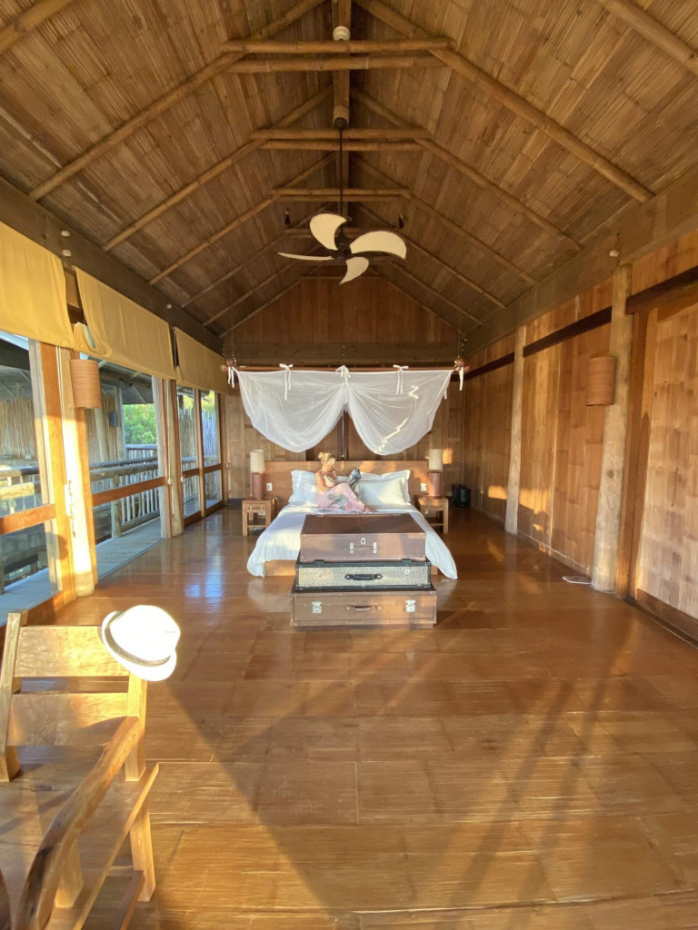 Large bedroom on the second dloor of the six bedroom villa