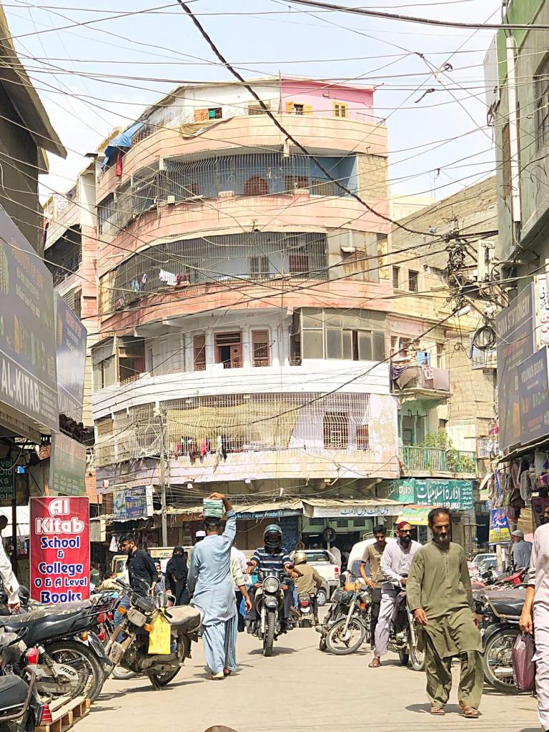 Busy streets, Karachi