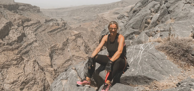 Top of the world! Oman