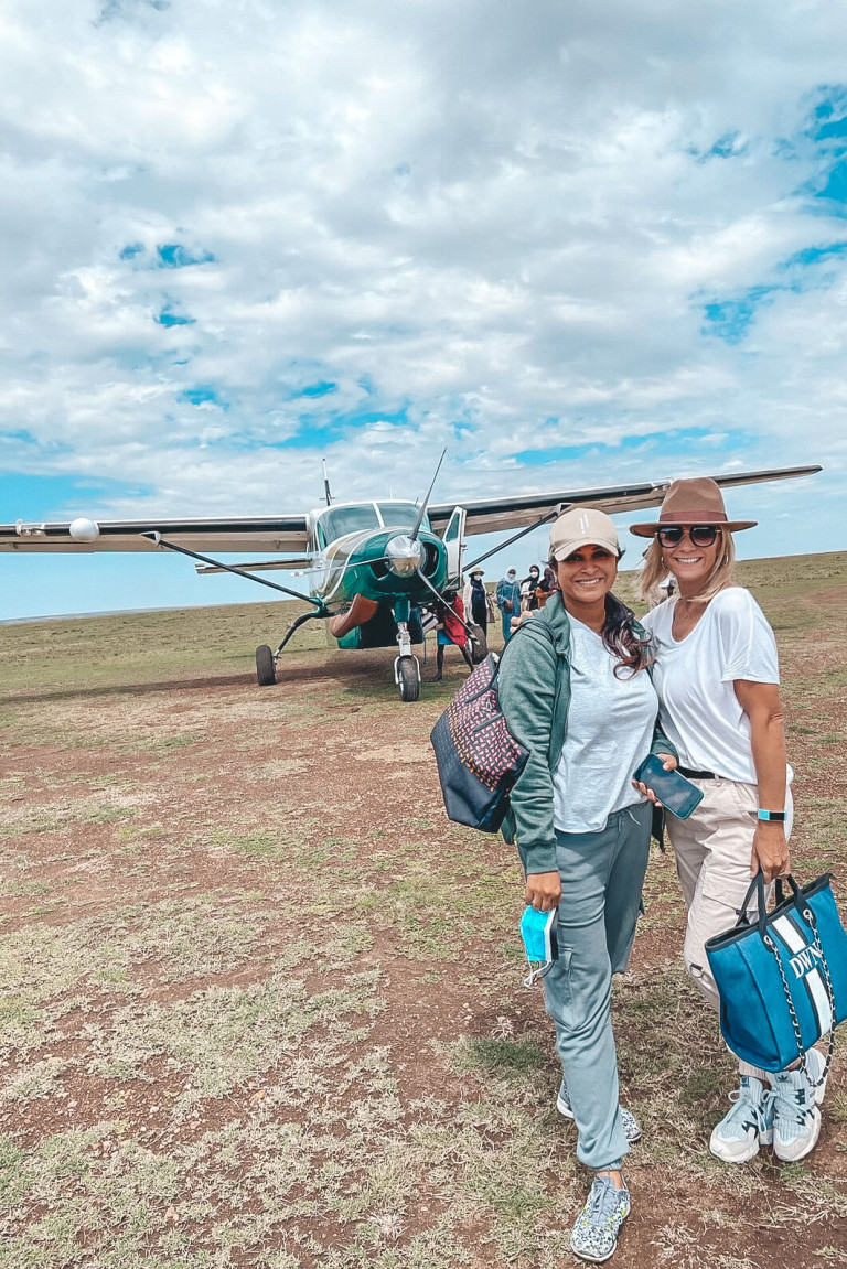Ready to start our incredible safari experience with Great Plains, Kenya