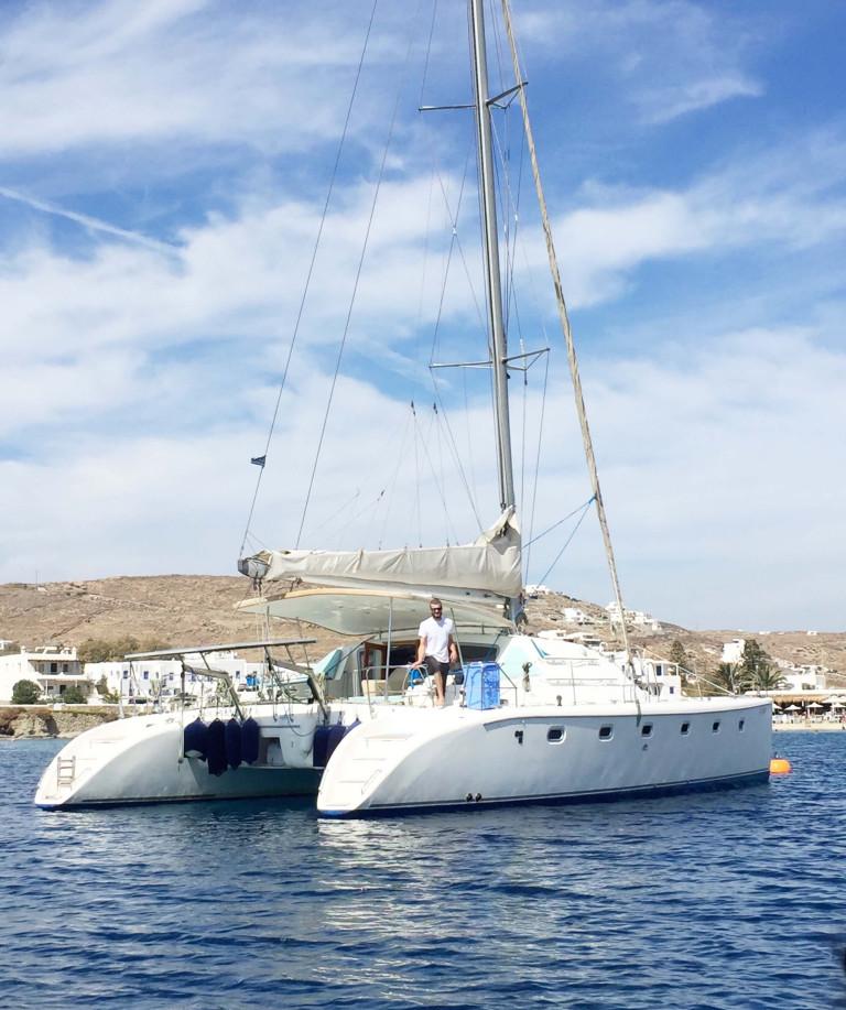 Sailing in Mykonos