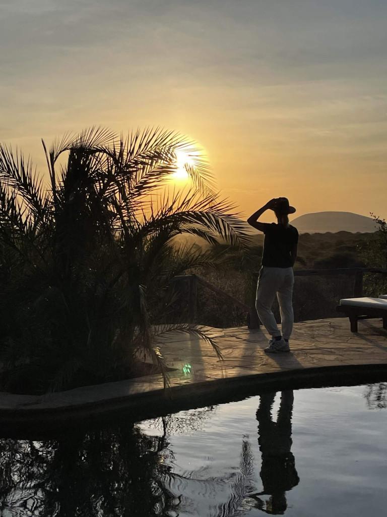 Ol Donyo sunset