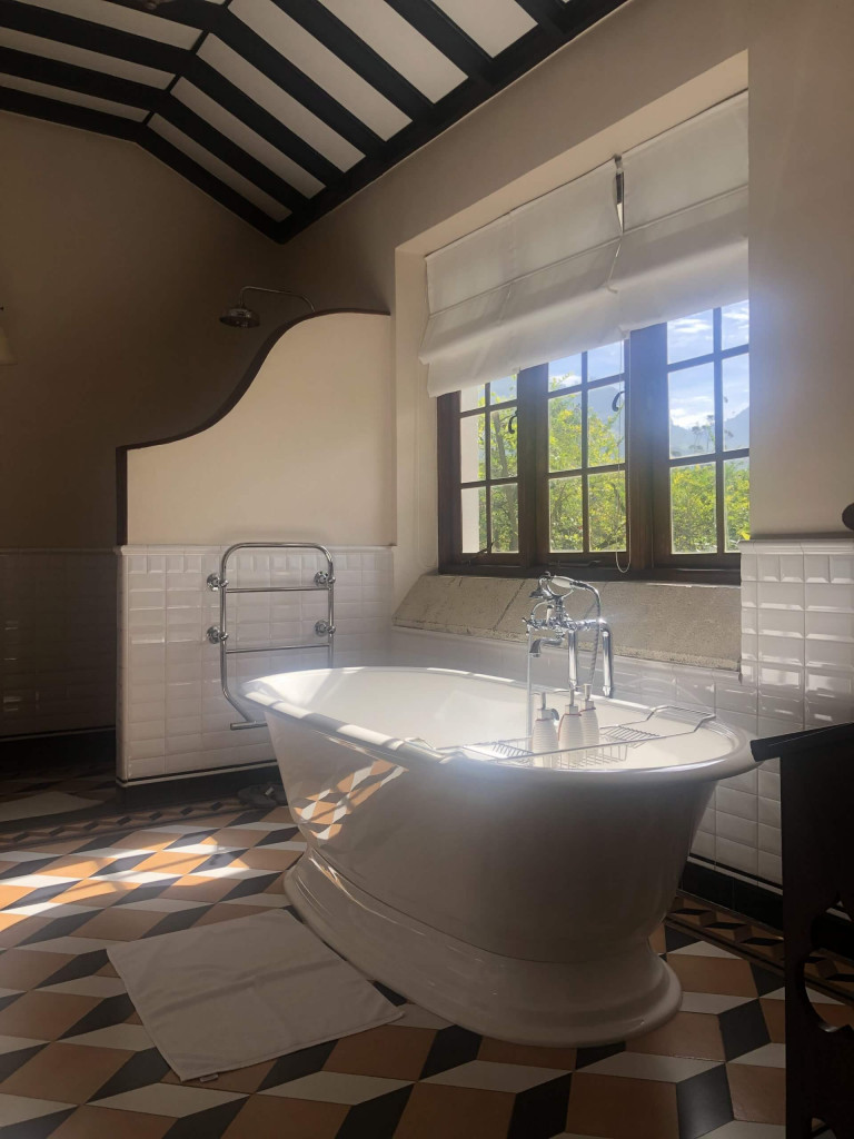 Bathroom goals in the suite at Tientsin Bungalow