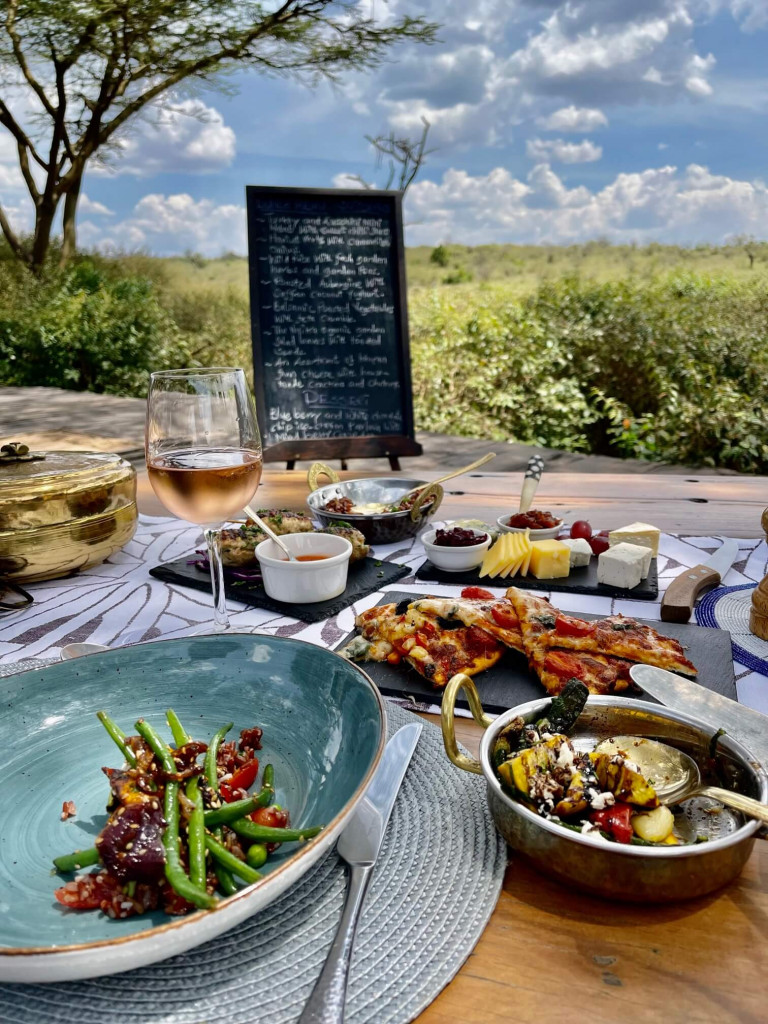 Mara Nyika lunch with a view