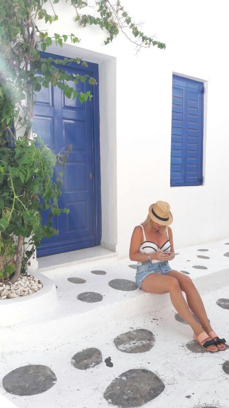 The doors of Mykonos