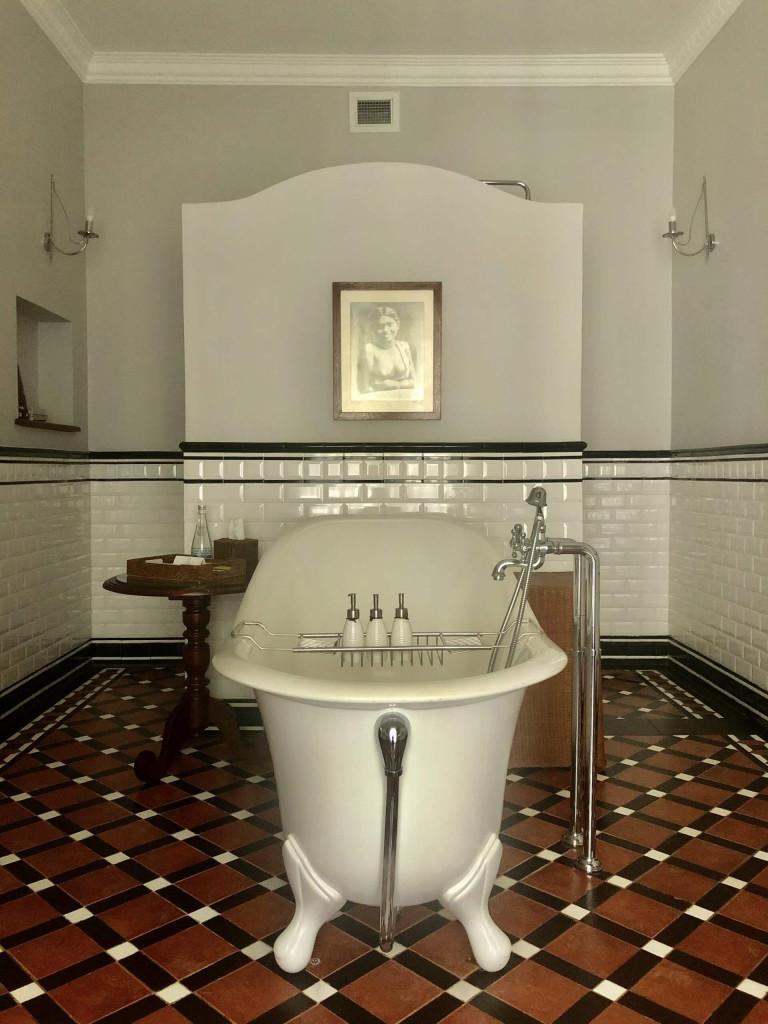 Bathroom at Dunkeld Bungalow