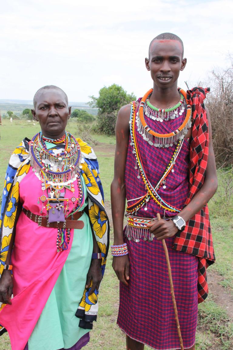 Maasi tribe members