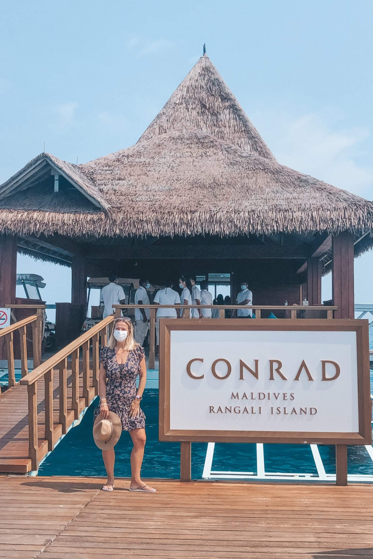 Welcome to Conrad Rangali Maldives