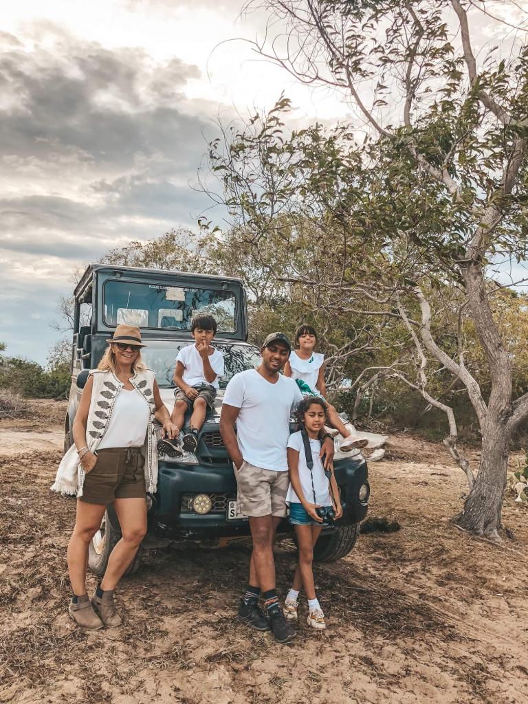 Family Safari at Yala National Park