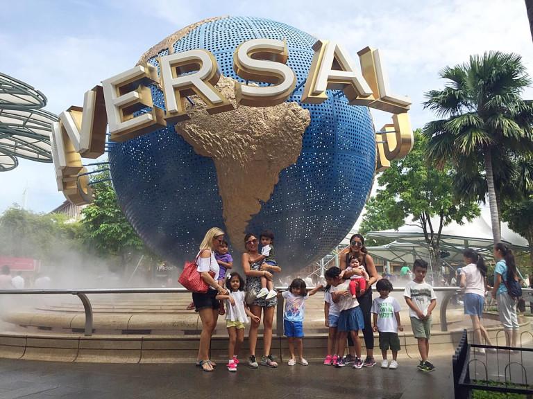 Mums and Kids Universal Studios