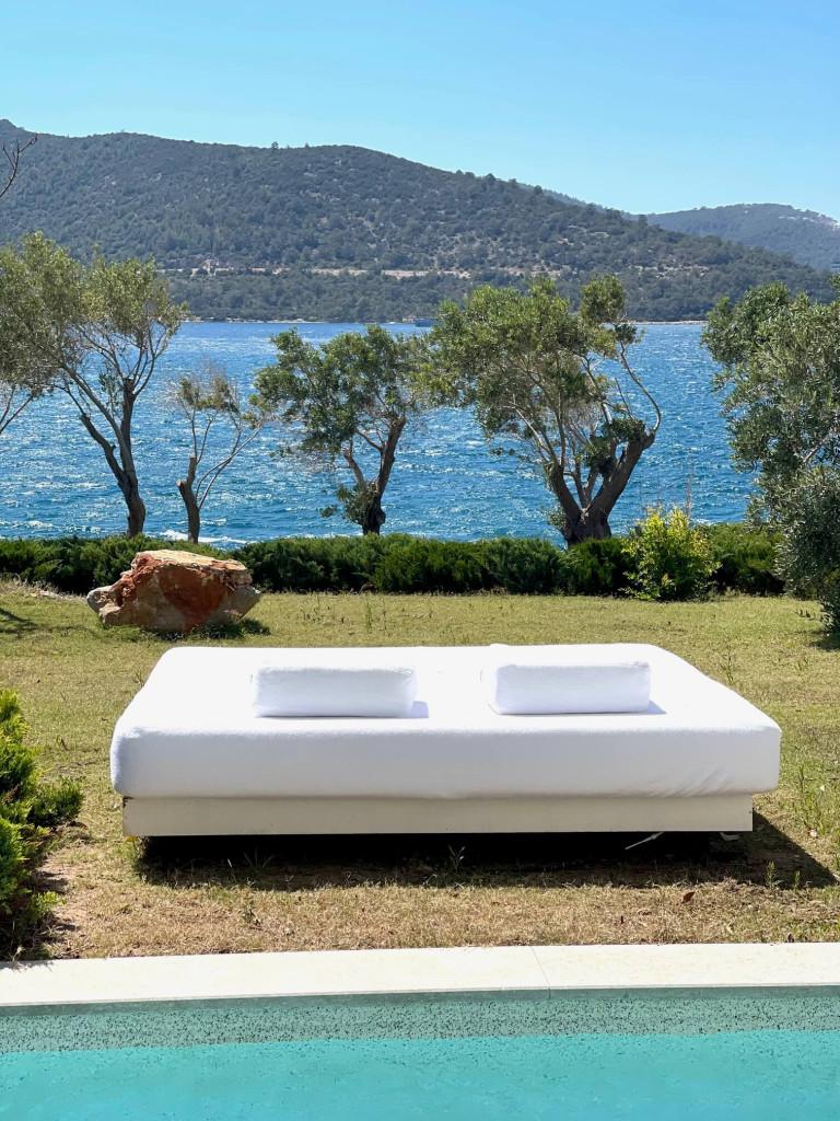 Views of the Aegean Sea