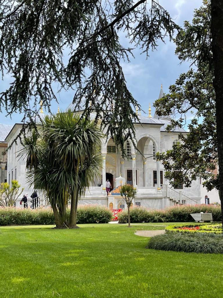 Stunning grounds at Topkapi Palace