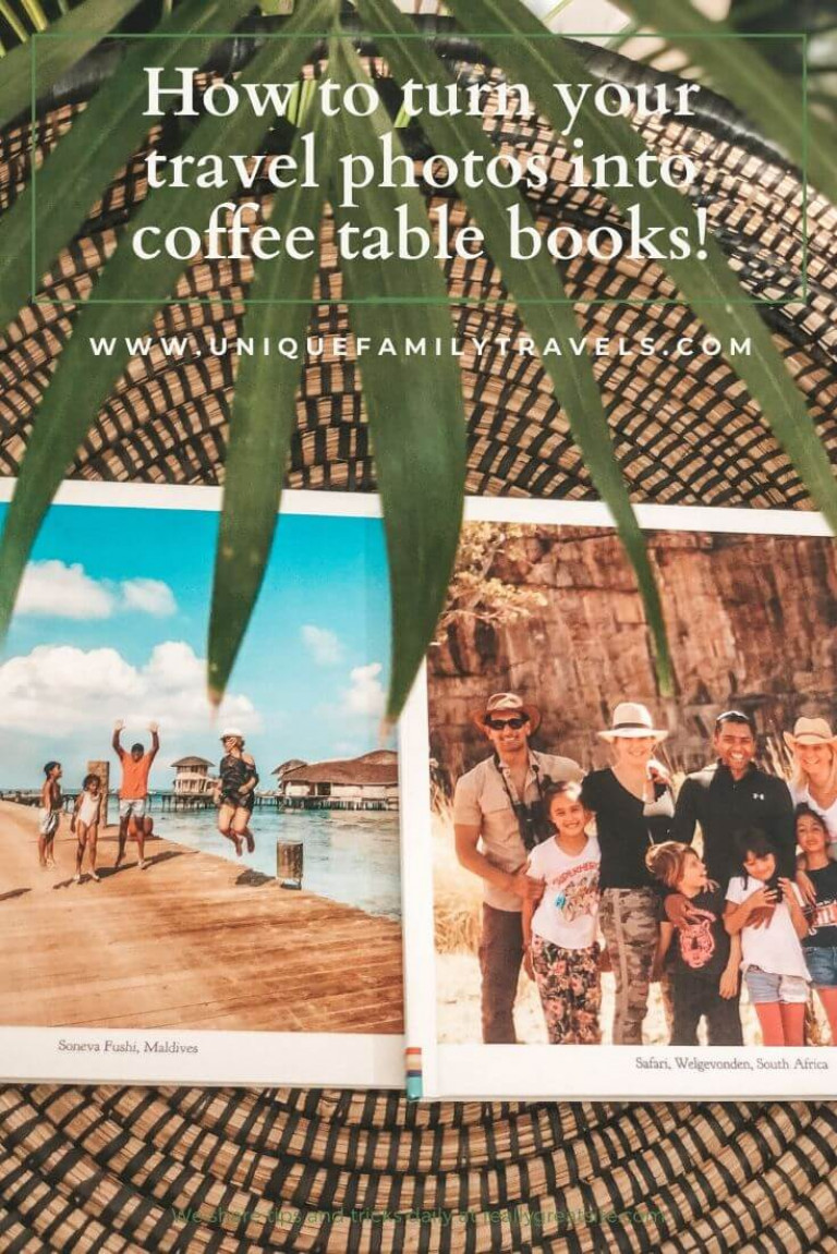 Turn your travel photos into coffee table books
