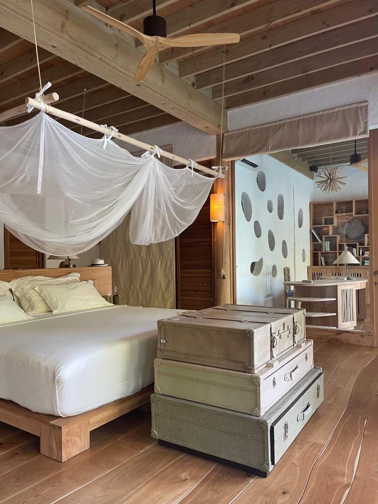 The Master bedroom in our 5 bedroom villa