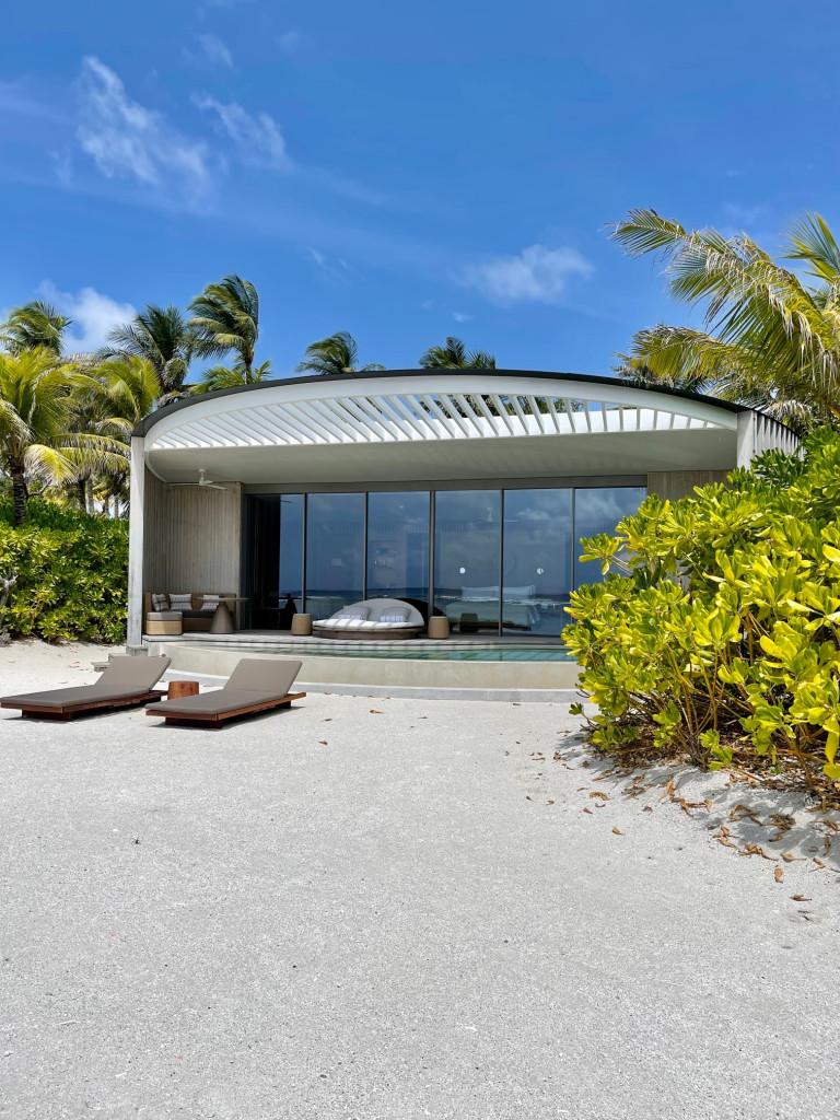 One bedroom beach villa at Ritz Carlton