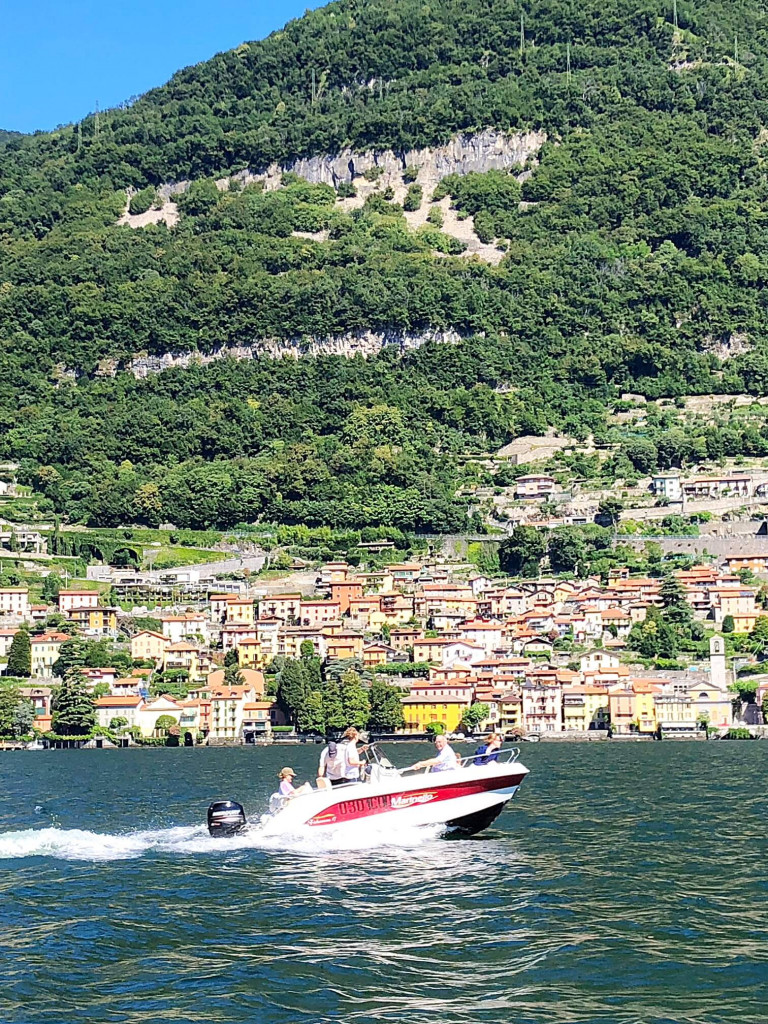 Lake Como from the sea
