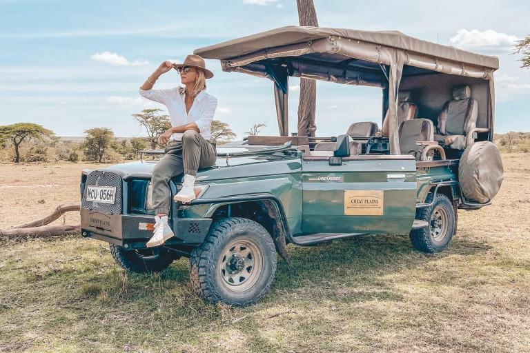 When on safari!...