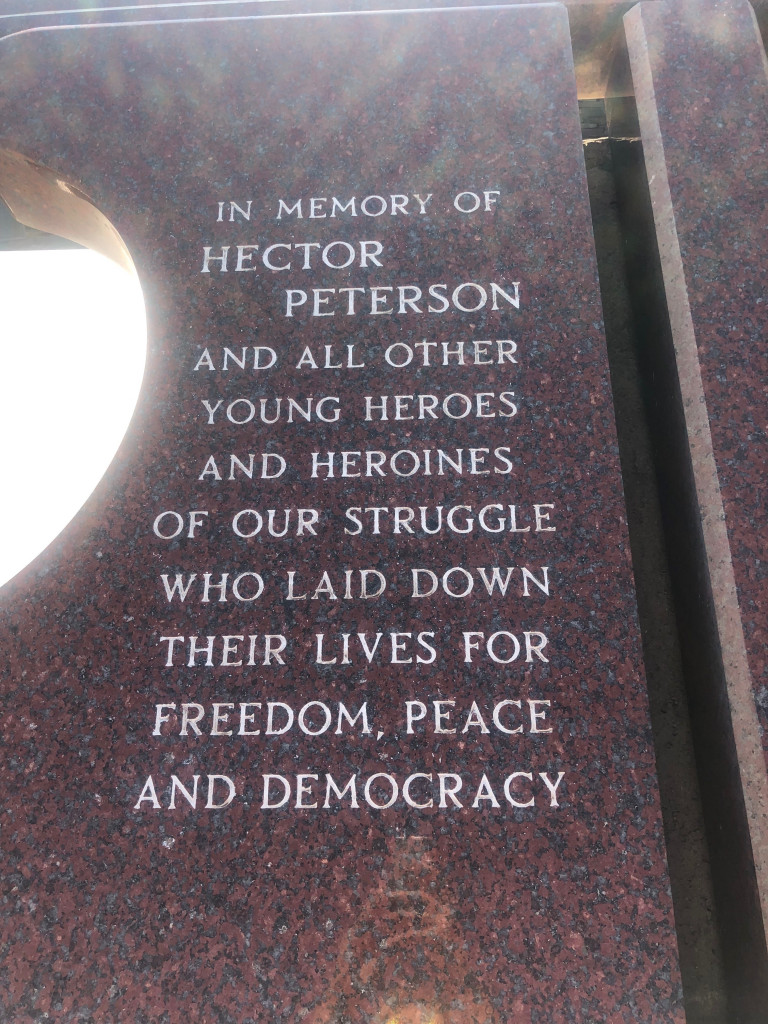 In Memory of Hector Pieterson