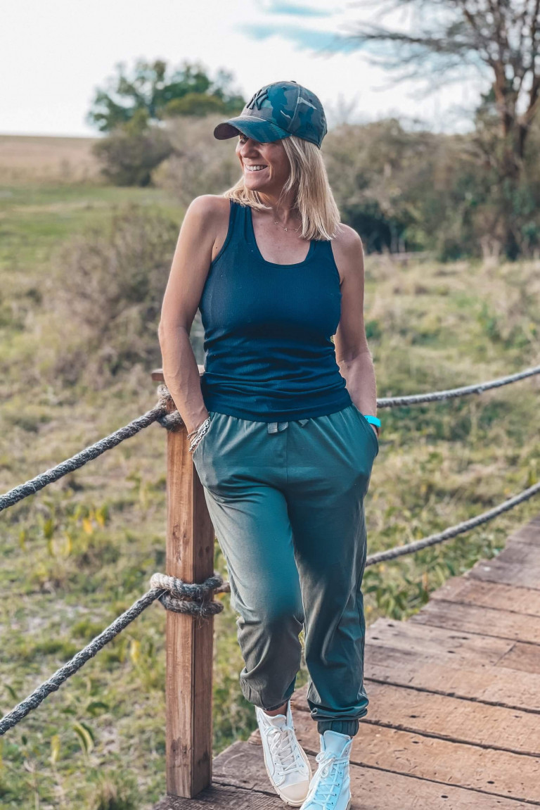 The walk ways between the tents - Mara Plains