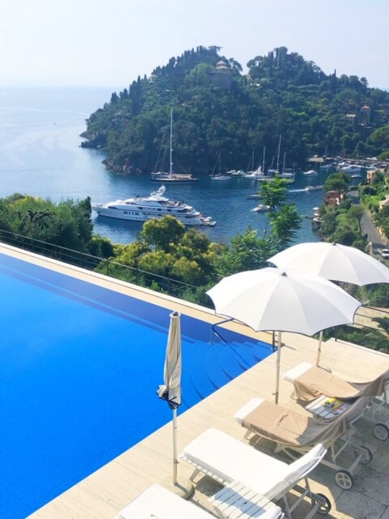 View from Hotel Splendido