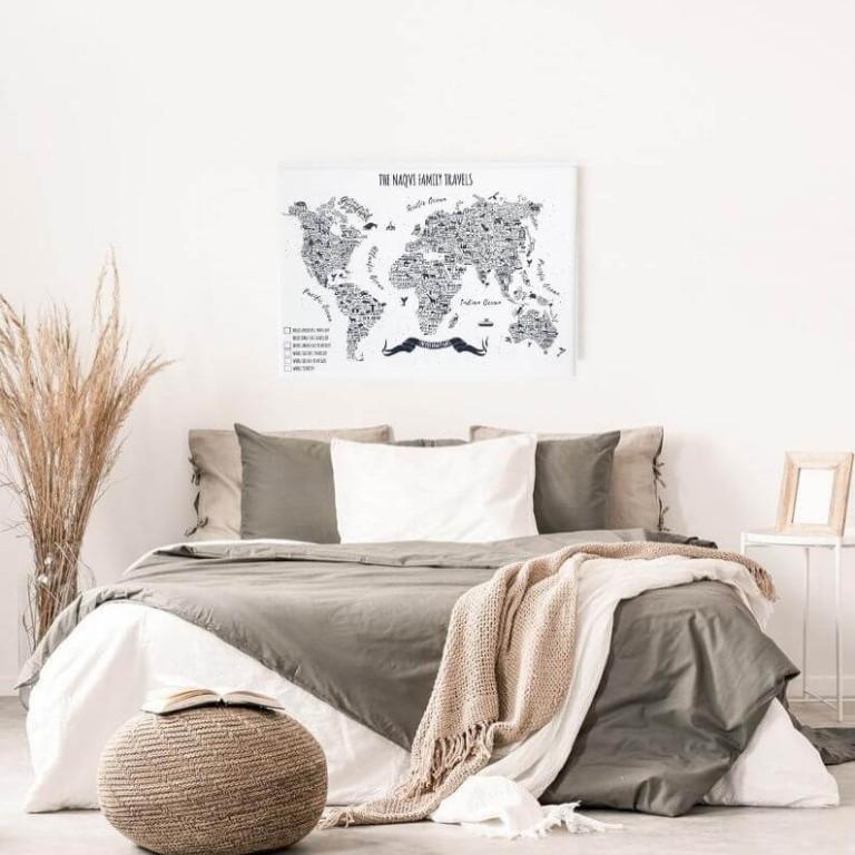 Bedroom setting