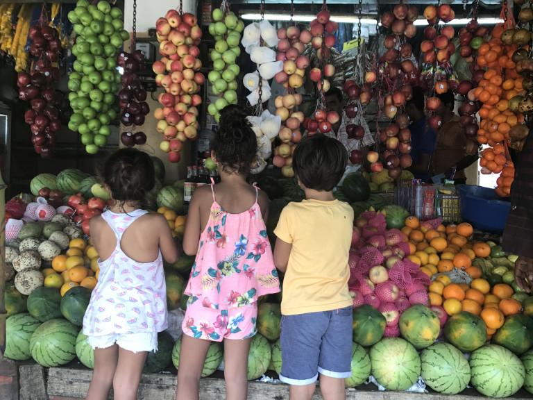 Sri lanka veg market