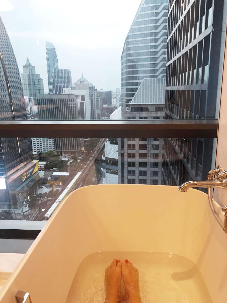 Bathroom views at Rosewood