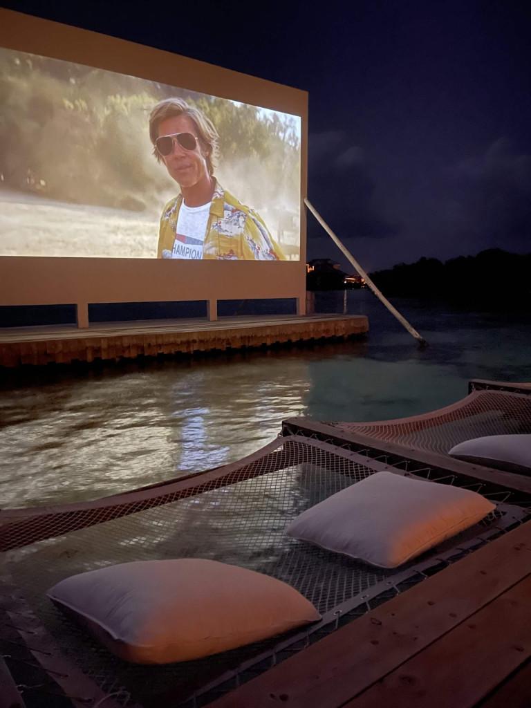 Brad Pitt Cinema Paradiso