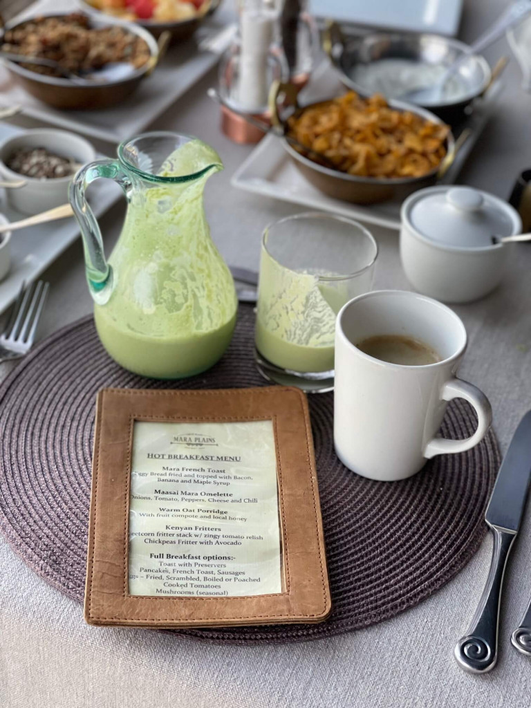 Breakfast Mara Plains