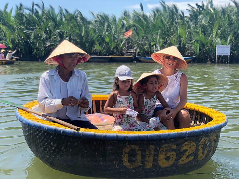 Traditional basket boat