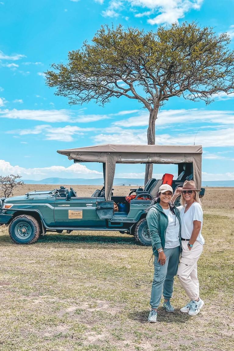 Beautiful open plains, Kenya