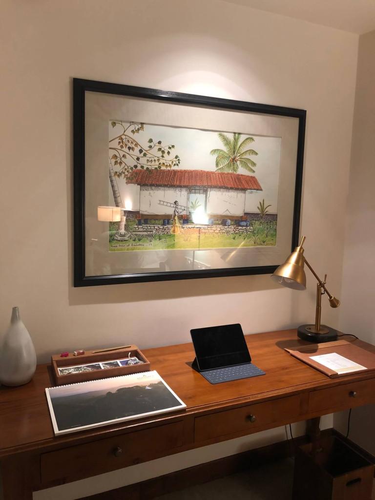 Anantara Peace Haven desk
